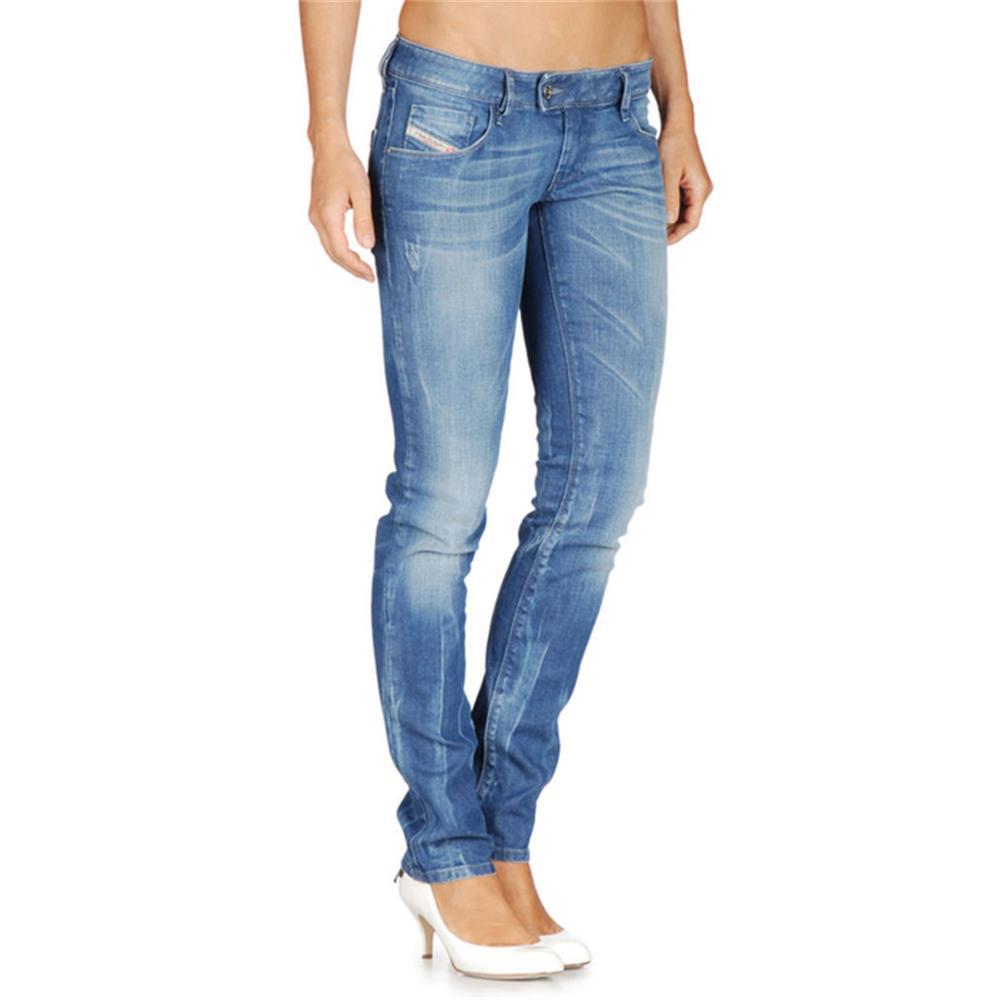 damen jeans damenjeans r hrenjeans r hre skinny hose schwarz ebay. Black Bedroom Furniture Sets. Home Design Ideas