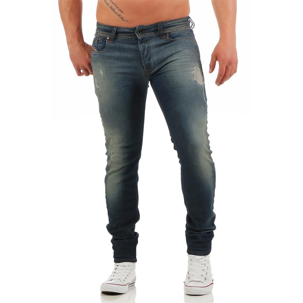 diesel sleenker 0670n herren jeans slim skinny herrenjeans. Black Bedroom Furniture Sets. Home Design Ideas