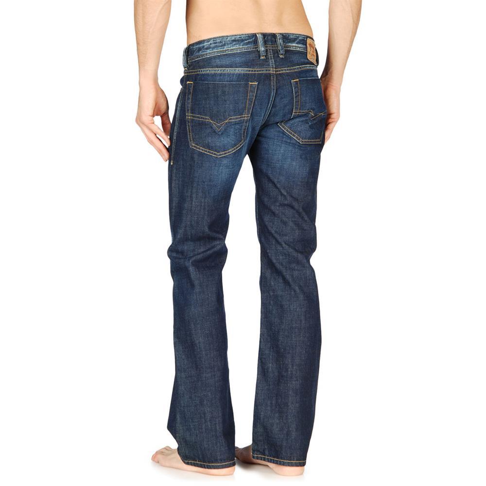 diesel jeans zatiny regular bootcut herrenjeans herren denim hose ebay. Black Bedroom Furniture Sets. Home Design Ideas