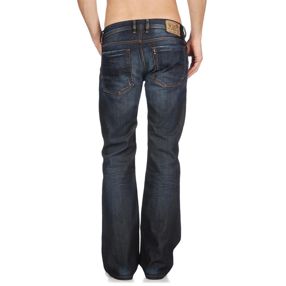 diesel jeans zatiny regular bootcut herrenjeans herren. Black Bedroom Furniture Sets. Home Design Ideas