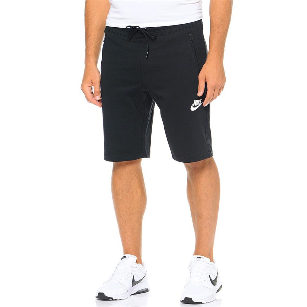 Nike Advance 15 Fleece Slim Short Kurze Hose Jogginghose Trainingshose Sporthose
