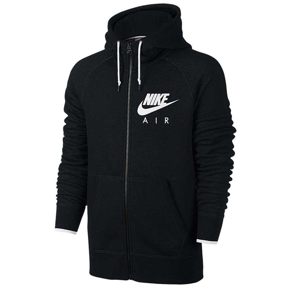 nike air aw77 heritage full zip fleece men 39 s hoody. Black Bedroom Furniture Sets. Home Design Ideas