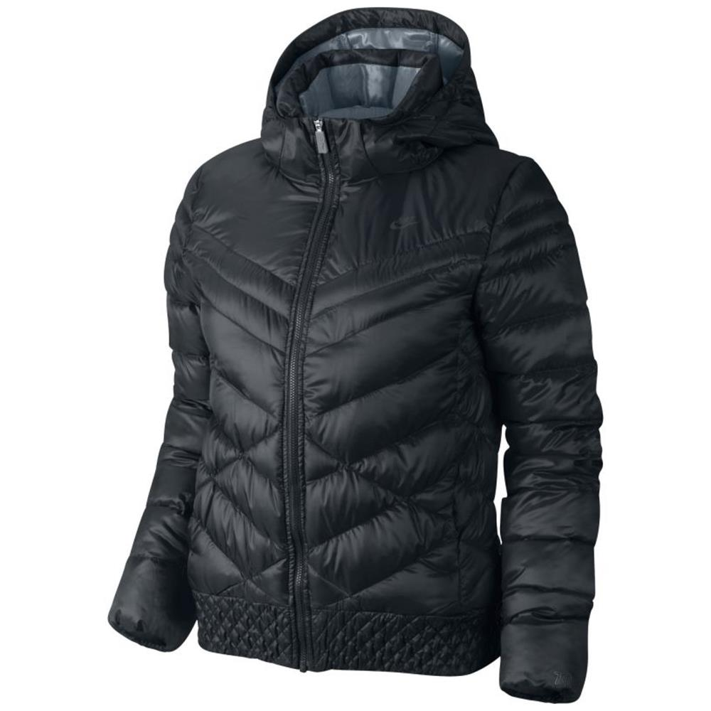 nike cascade down 700 hooded damen daunenjacke jacke. Black Bedroom Furniture Sets. Home Design Ideas