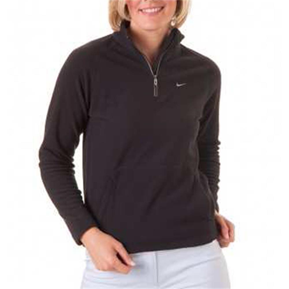 nike golf therma fit kinder fleece pullover schwarz rot. Black Bedroom Furniture Sets. Home Design Ideas