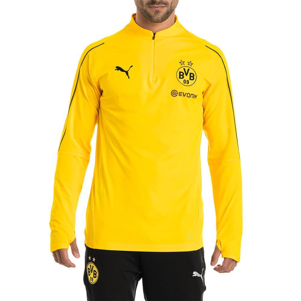 Puma BVB Borussia Dortmund Herren Trainingsanzug 1//4 Zip Top Hose 2018//19