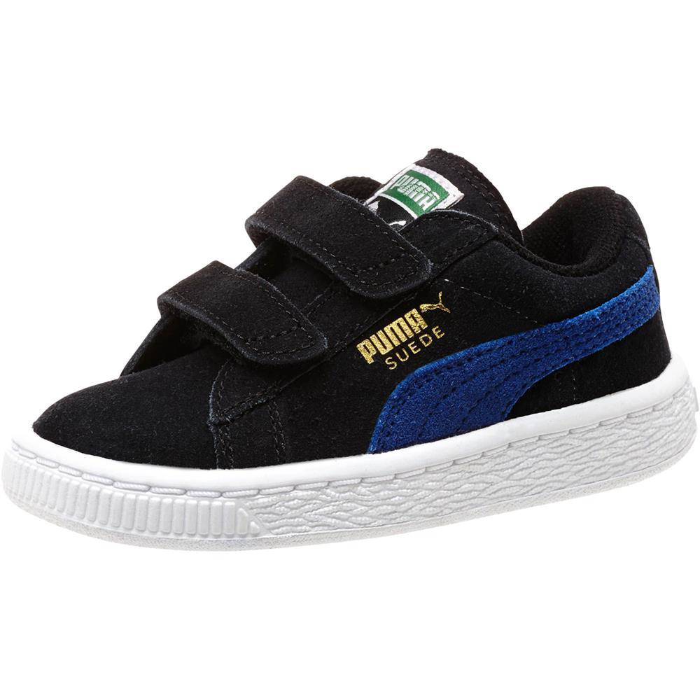puma classic suede 2 straps kids enfants sneaker chaussures tennis enfants ebay. Black Bedroom Furniture Sets. Home Design Ideas