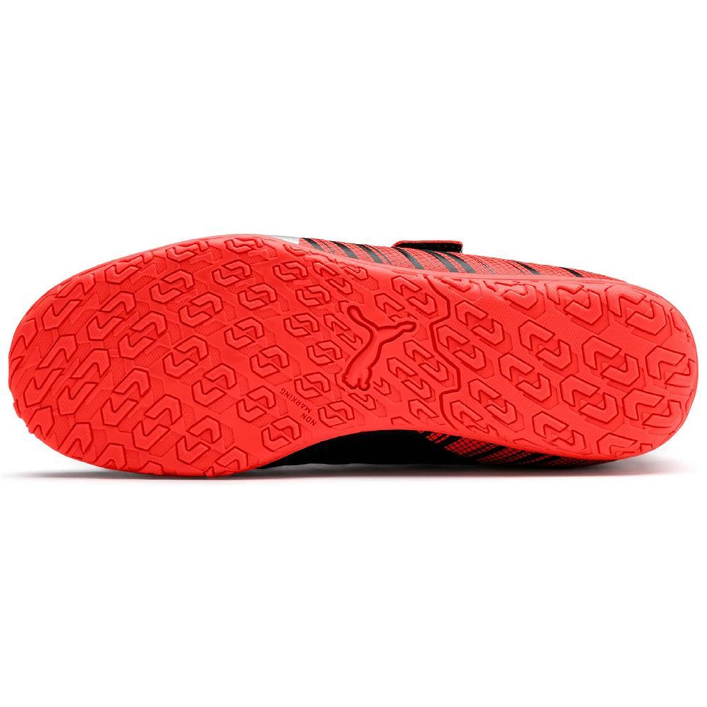 Puma ONE 5.4 IT V Jr Hallenschuhe Kinder Schuhe Fußballschuhe Turnschuhe