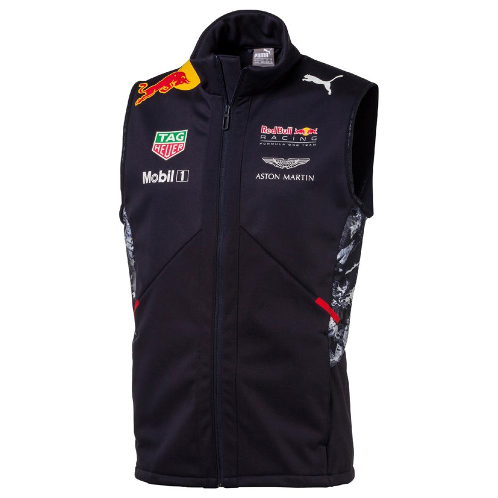 puma red bull racing gilet weste official team f1 herren. Black Bedroom Furniture Sets. Home Design Ideas