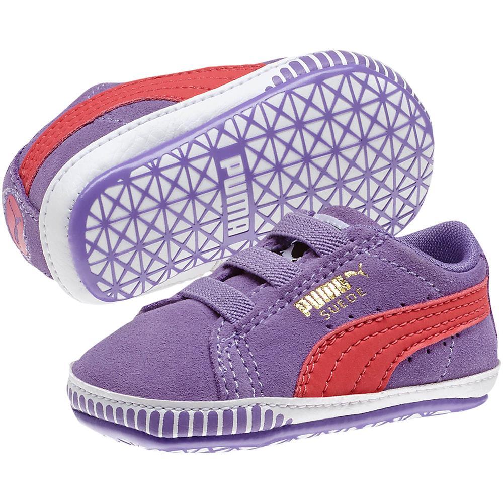 Puma-Suede-Crib-Sneaker-zapatos-de-bebe-de-calzado-zapatillas-gateo