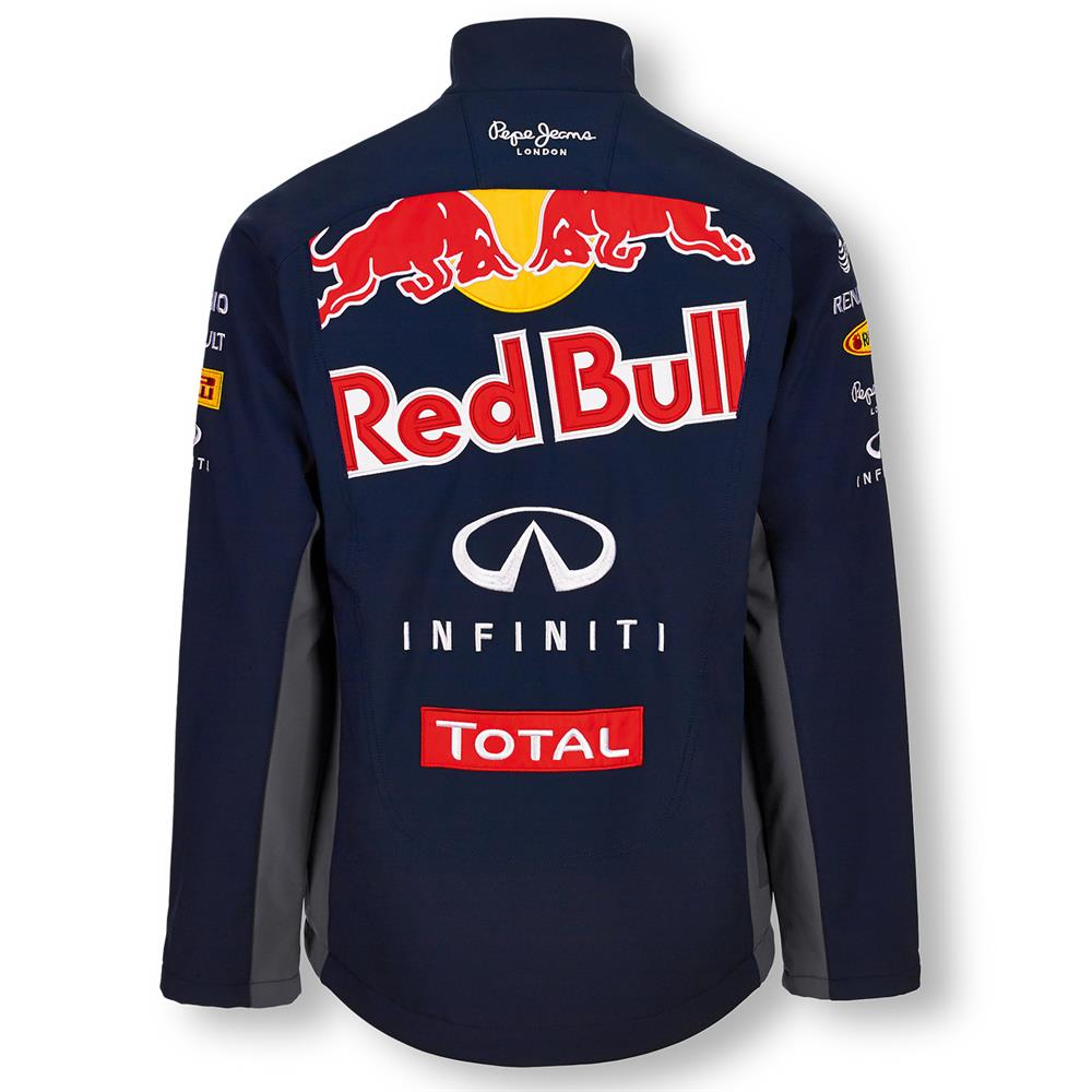 pepe jeans red bull racing official teamline f1 herren softshell jacke ebay. Black Bedroom Furniture Sets. Home Design Ideas
