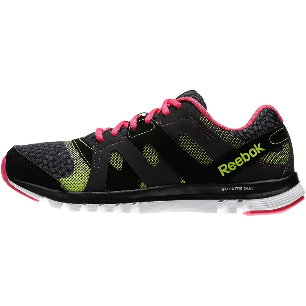 Reebok Sublite Duo Flow Womens Shoes Sneakers Running ...