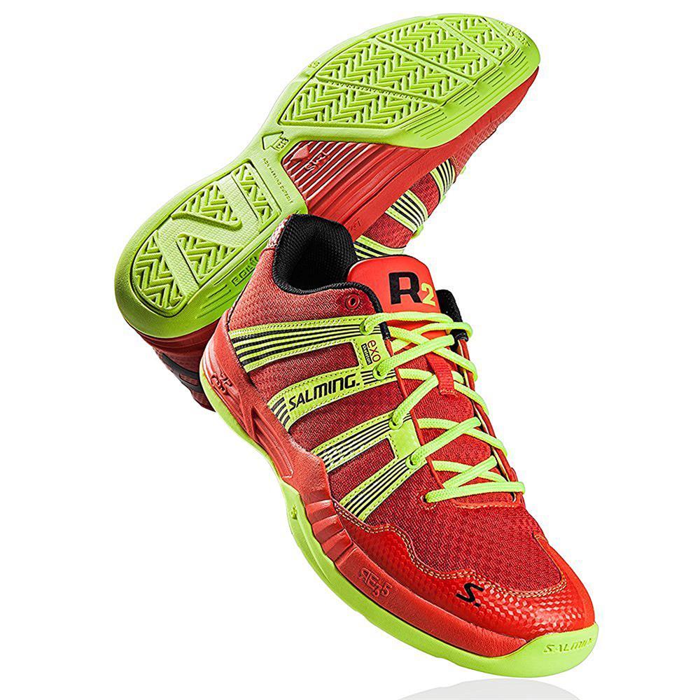 Scarpe-indoor-scarpe-da-pallamano-scarpe-palestra-tennis-Salming-Race-R2-2-0-3-0