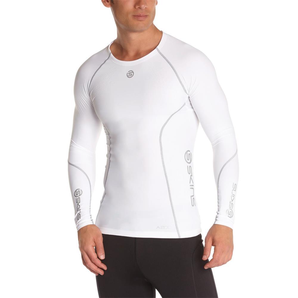 Skins A200 long sleeve compression top long sleeve shirt fitness sport shirt