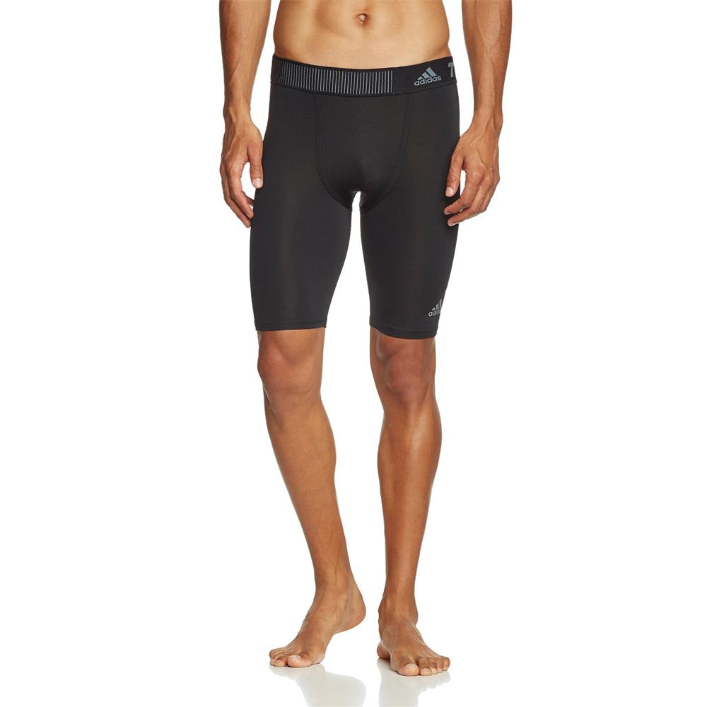 Adidas-TechFit-Cool-9-034-Shorts-Tight-Short-corsa-short-compressione-short-sport