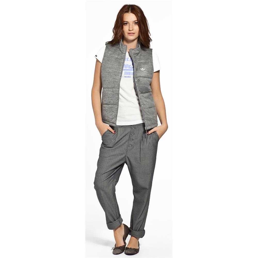 25b96d3a4a9 adidas Women s Originals F Night Vest Padded Vest Jacket