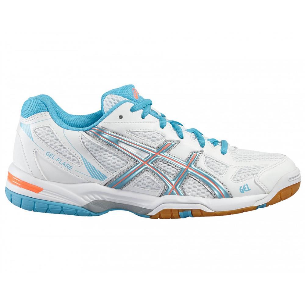 Asics-Gel-Flare-5-Damen-Hallenschuhe-Volleyballschuhe-Badmintonschuhe-Schuhe Indexbild 8