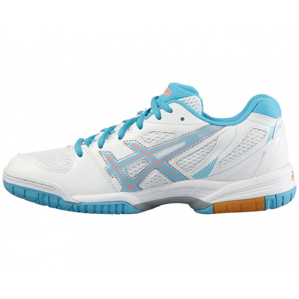 Asics-Gel-Flare-5-Damen-Hallenschuhe-Volleyballschuhe-Badmintonschuhe-Schuhe Indexbild 9