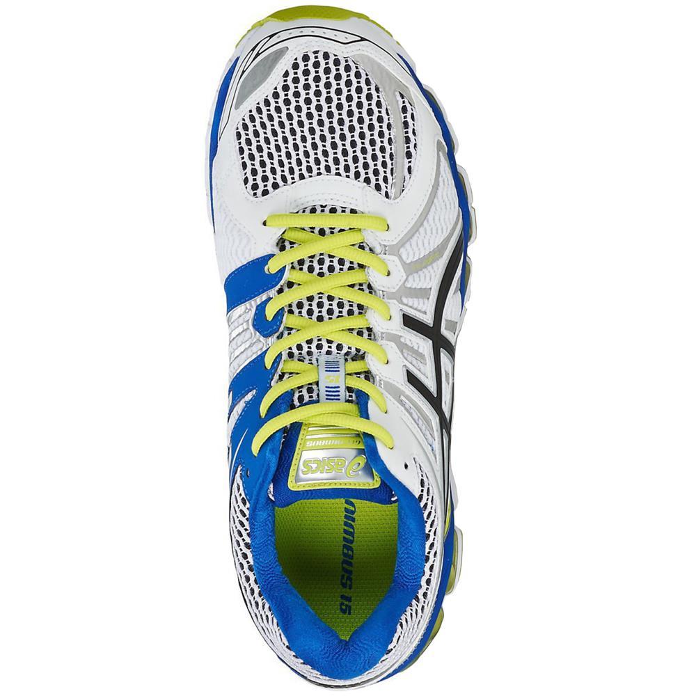 Asics-gel-nimbus-15-caballeros-zapatillas-running-zapatos-zapatillas-calzado-deportivo miniatura 11