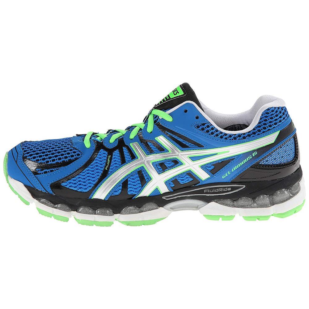 Asics-gel-nimbus-15-caballeros-zapatillas-running-zapatos-zapatillas-calzado-deportivo miniatura 3