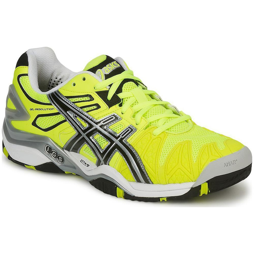 asics gel resolution 5 men's tennis shoes 11.5