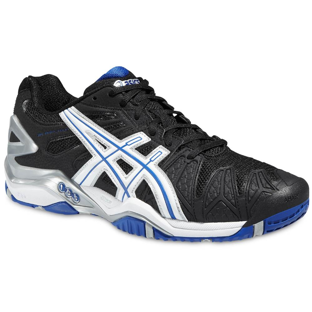 Asics Gel Resolution  Blue Yellow Mens Shoes