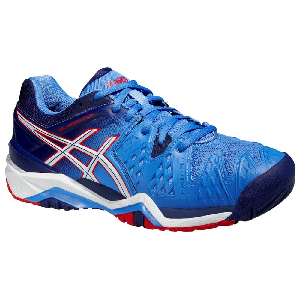 asics gel resolution 6 all court damen tennisschuhe tennis schuhe sportschuhe ebay. Black Bedroom Furniture Sets. Home Design Ideas