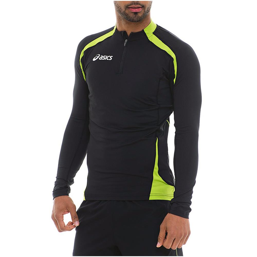Asics-Sweat-Ben-Langarm-Laufshirt-Running-Fitness-Shirt-Laufsport-Oberteil
