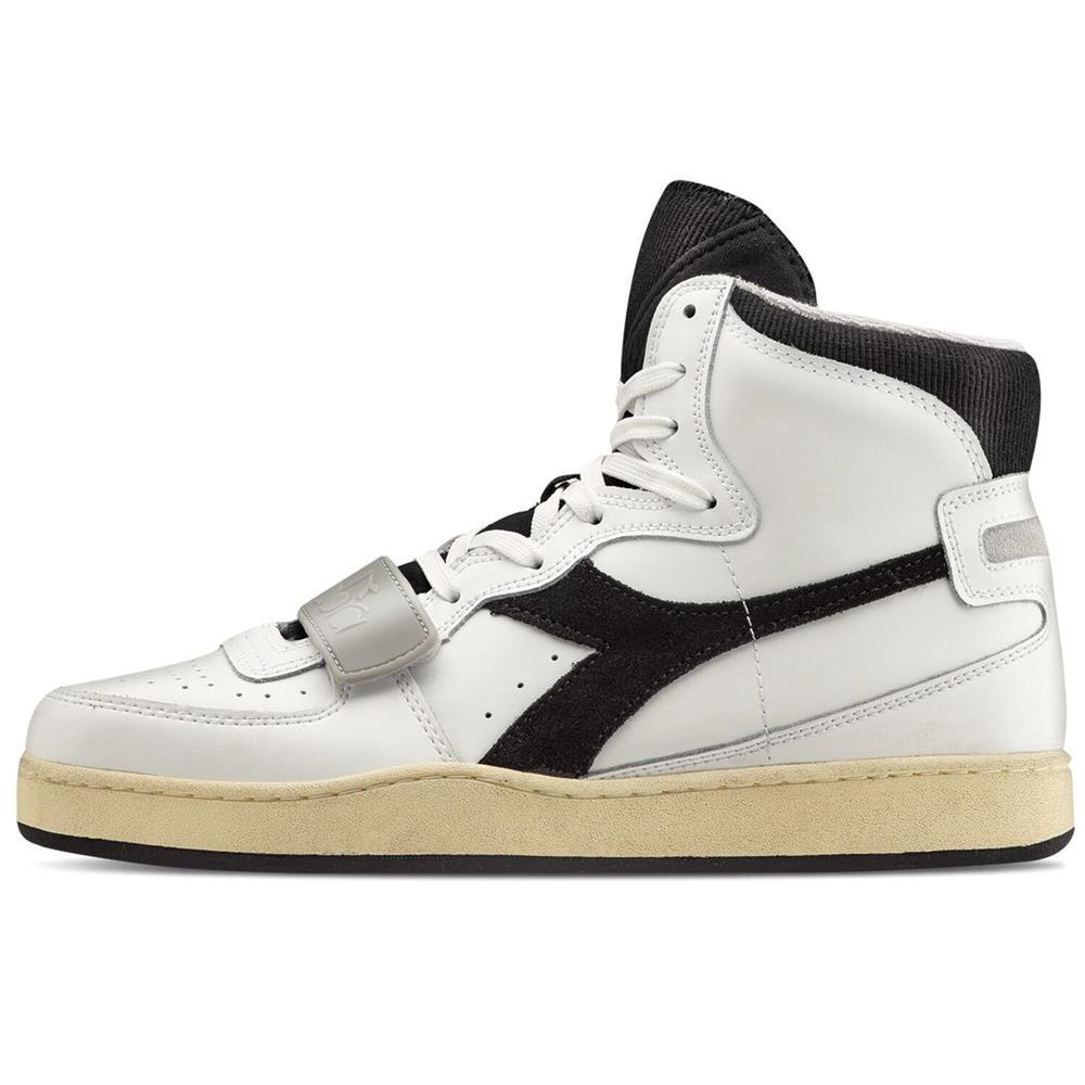 Indexbild 8 - Diadora MI Basket Used Herren Hi Top Sneaker Sportschuhe Turnschuhe
