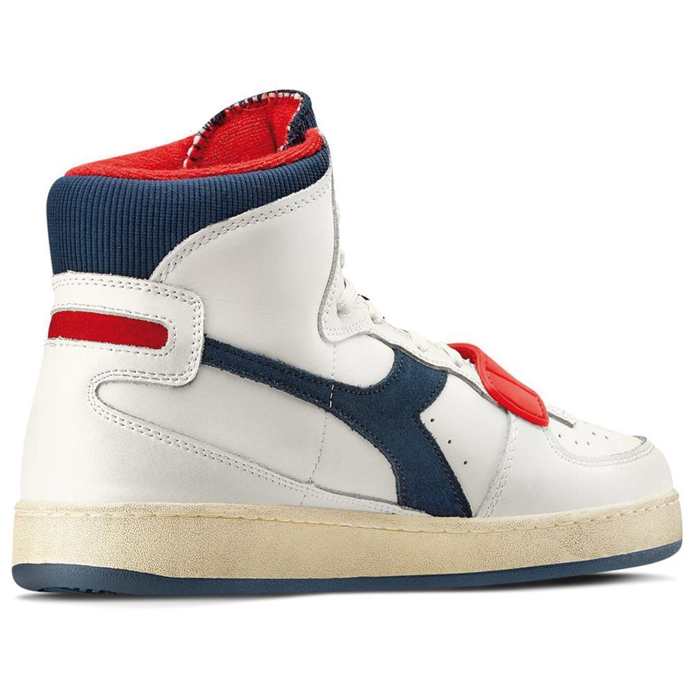 Indexbild 4 - Diadora MI Basket Used Herren Hi Top Sneaker Sportschuhe Turnschuhe