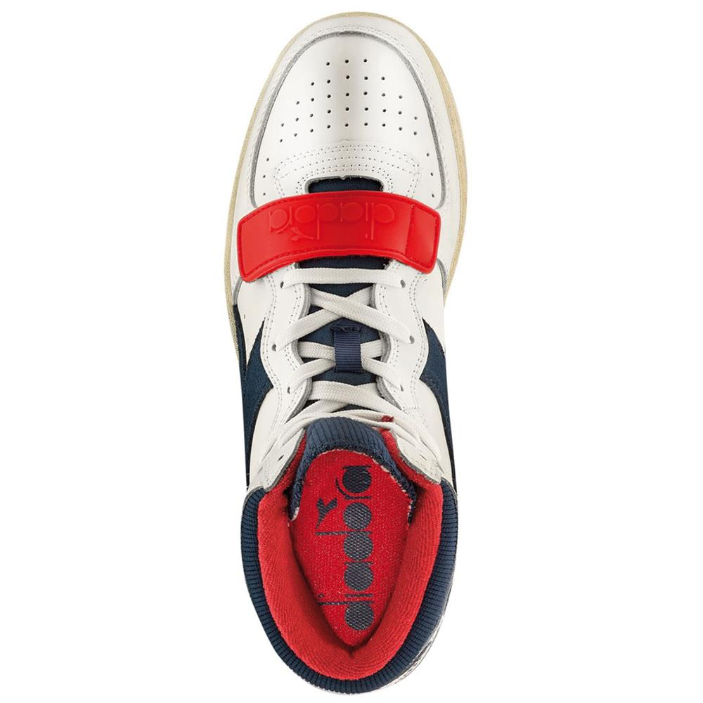 Indexbild 5 - Diadora MI Basket Used Herren Hi Top Sneaker Sportschuhe Turnschuhe