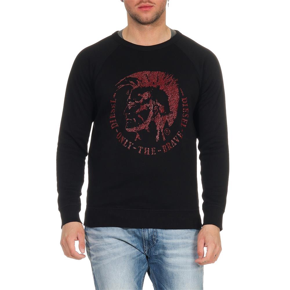 Indexbild 8 - DIESEL-S-Orestes-New-Sweatshirt-Herren-Pullover-Sweater-Pulli