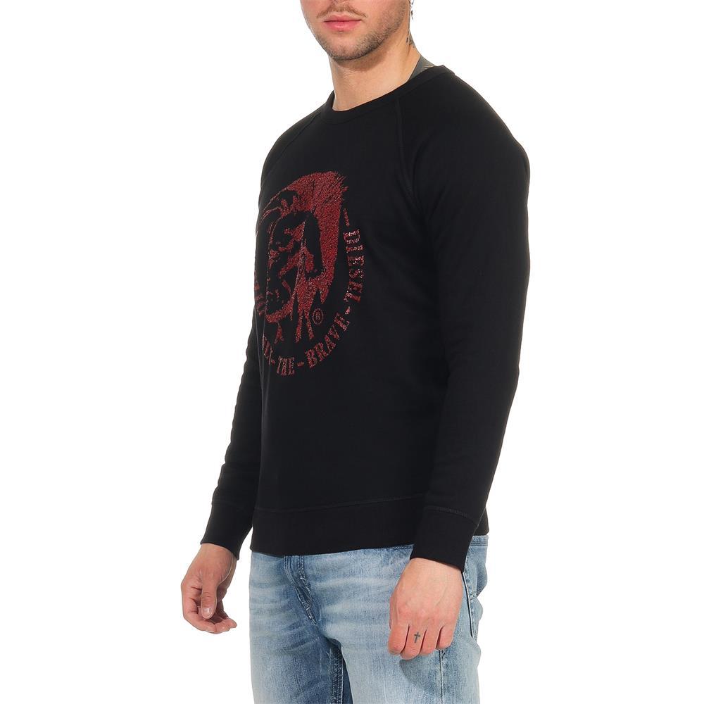 Indexbild 9 - DIESEL-S-Orestes-New-Sweatshirt-Herren-Pullover-Sweater-Pulli