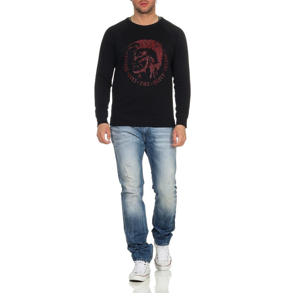 Indexbild 11 - DIESEL-S-Orestes-New-Sweatshirt-Herren-Pullover-Sweater-Pulli