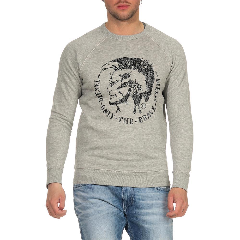 Indexbild 3 - DIESEL-S-Orestes-New-Sweatshirt-Herren-Pullover-Sweater-Pulli