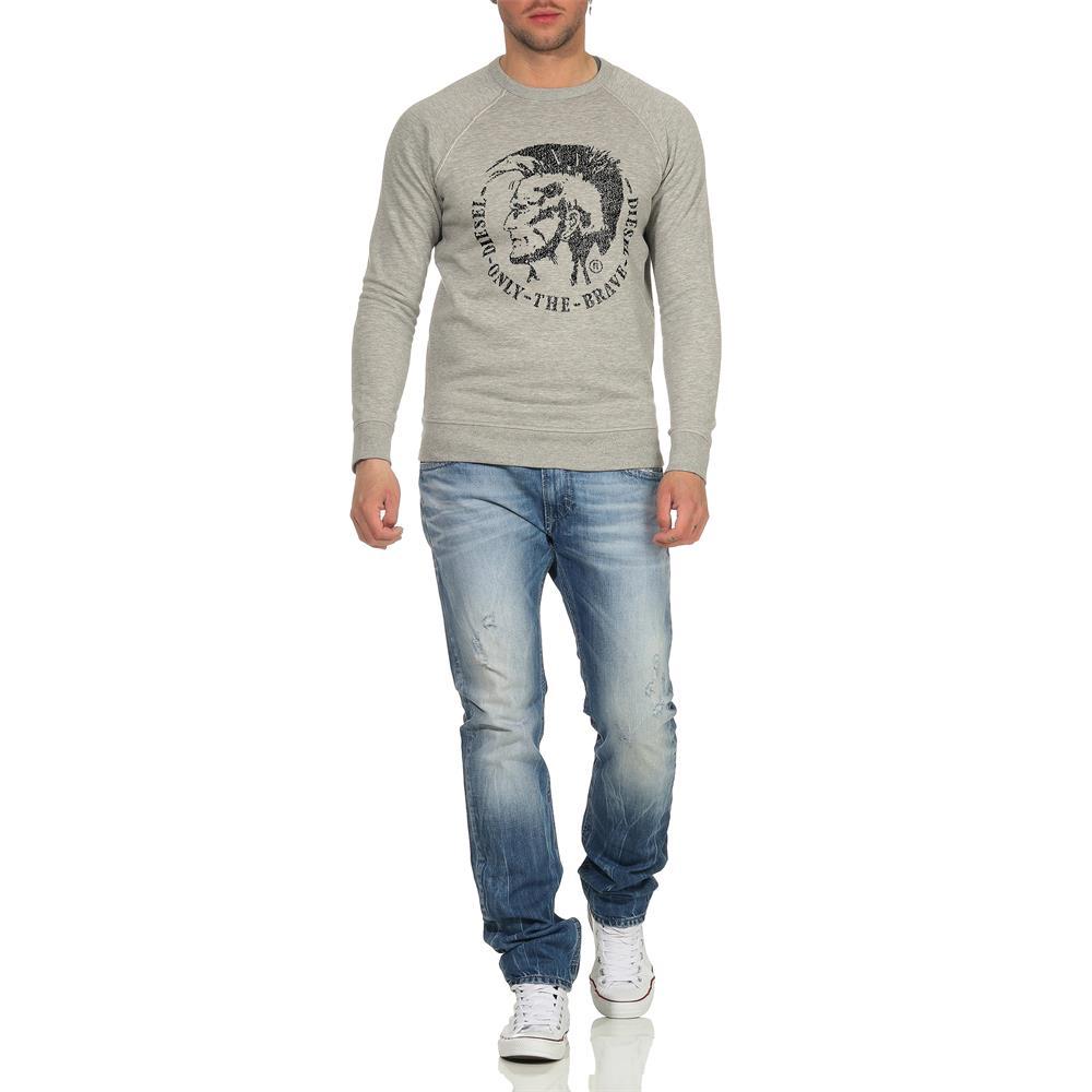Indexbild 6 - DIESEL-S-Orestes-New-Sweatshirt-Herren-Pullover-Sweater-Pulli