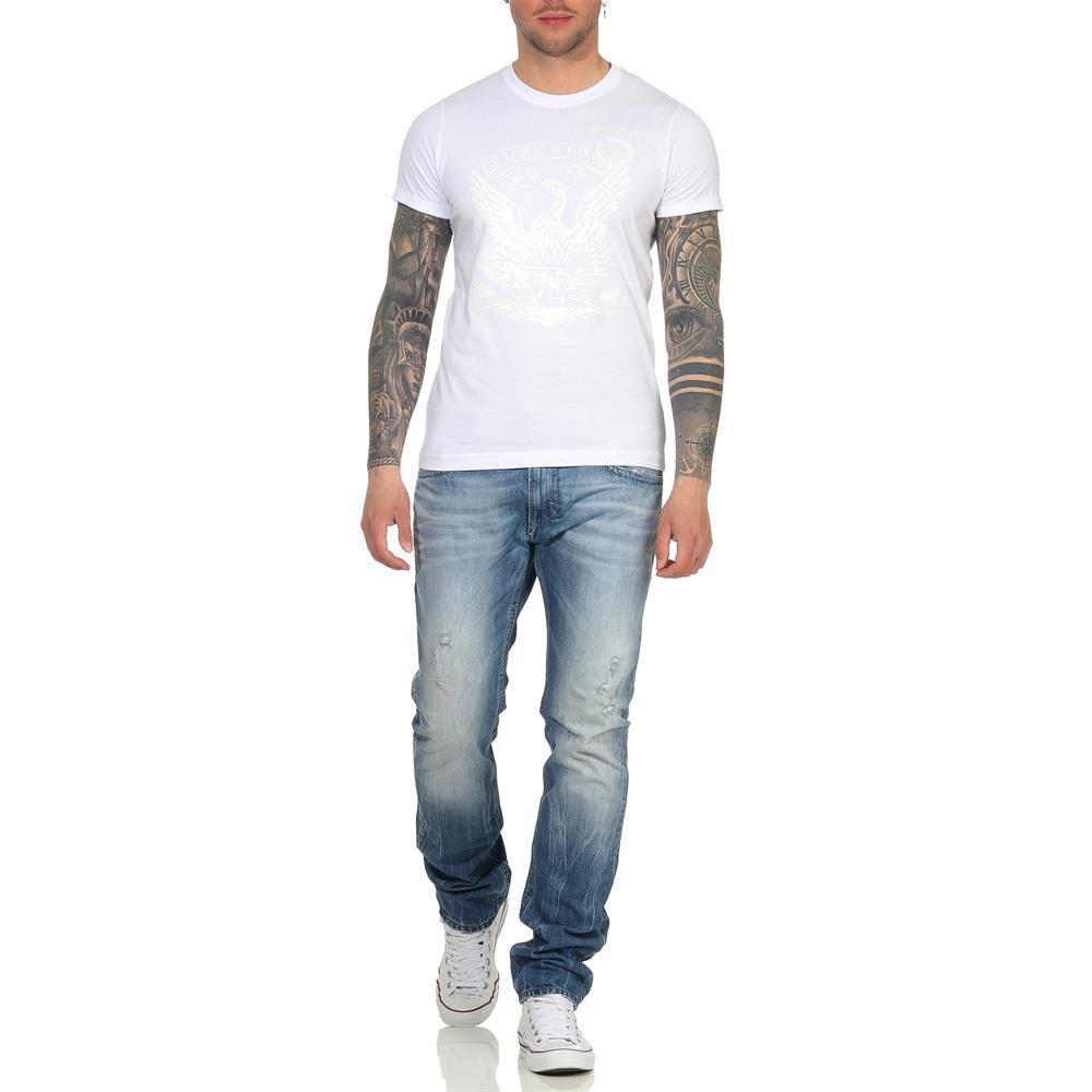 Indexbild 41 - DIESEL Herren T-Shirt Mohawk Slim Tee Rundhals Kurzarm Shirt