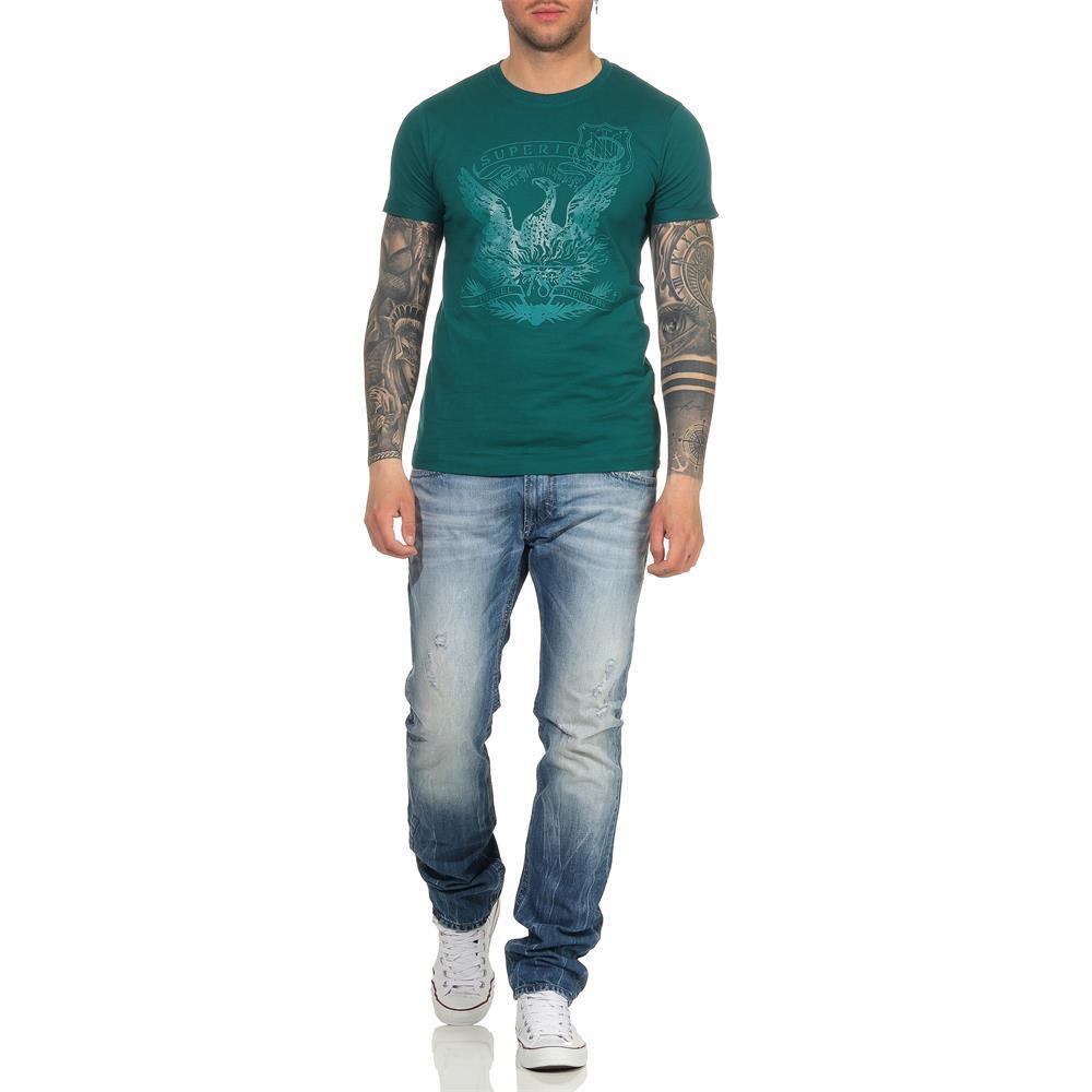 Indexbild 46 - DIESEL Herren T-Shirt Mohawk Slim Tee Rundhals Kurzarm Shirt
