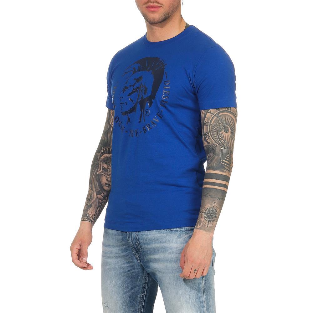 Indexbild 14 - DIESEL Herren T-Shirt Mohawk Slim Tee Rundhals Kurzarm Shirt