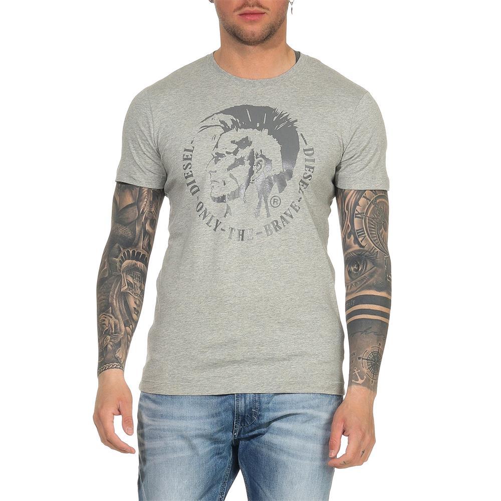 Indexbild 3 - DIESEL Herren T-Shirt Mohawk Slim Tee Rundhals Kurzarm Shirt