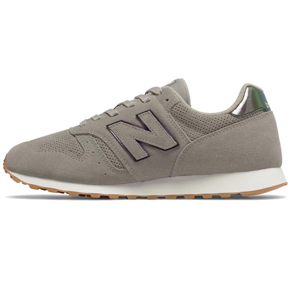 miniatura 3 - New-Balance-WL-373-Damen-Sneaker-Leder-Schuhe-Turnschuhe-Sportschuhe