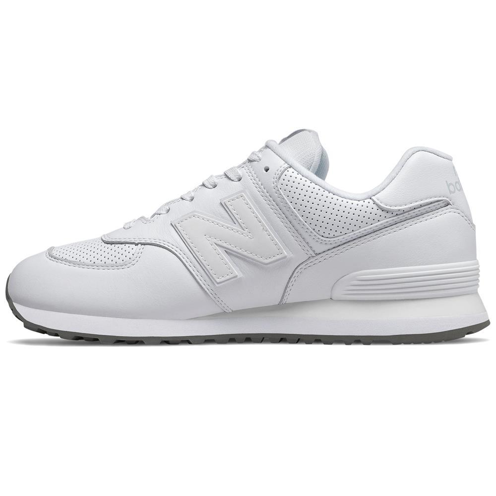 New-Balance-ML-574-SN-Herren-Sneaker-Leder-Schuhe-Turnschuhe-Sportschuhe Indexbild 3