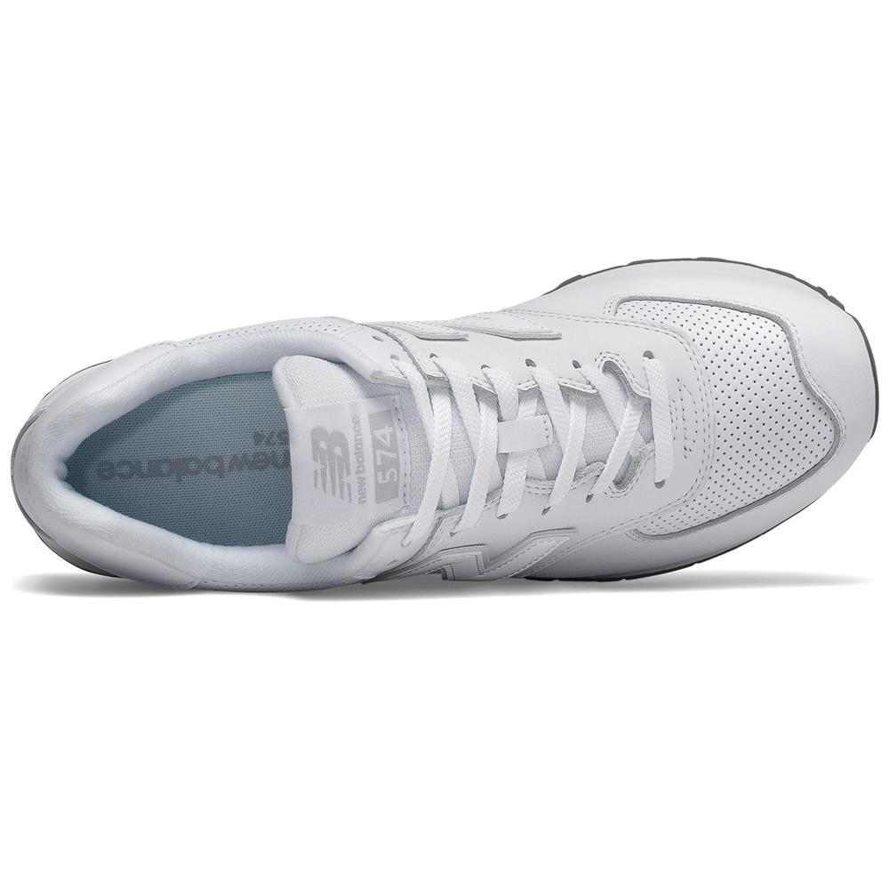 New-Balance-ML-574-SN-Herren-Sneaker-Leder-Schuhe-Turnschuhe-Sportschuhe Indexbild 4
