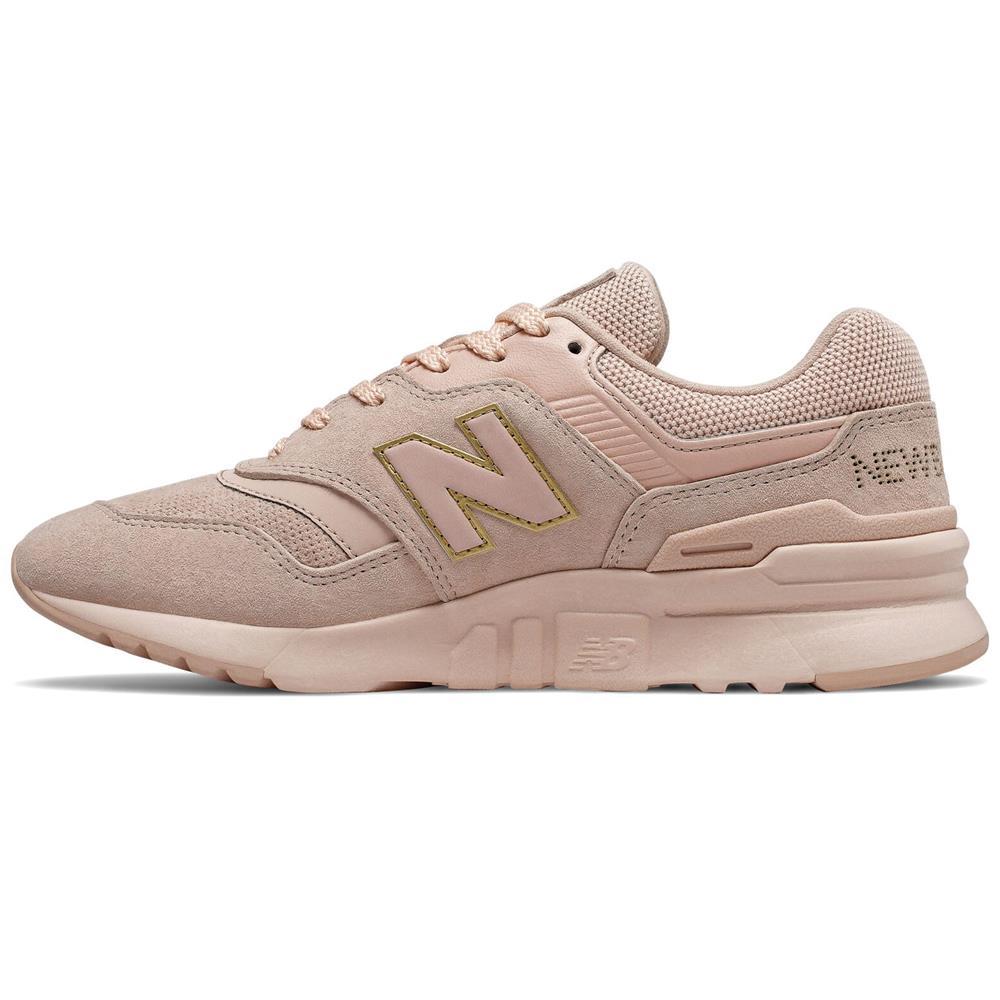 miniatura 7 - New-Balance-CW-997-H-Damen-Sneaker-Leder-Schuhe-Turnschuhe-Sportschuhe