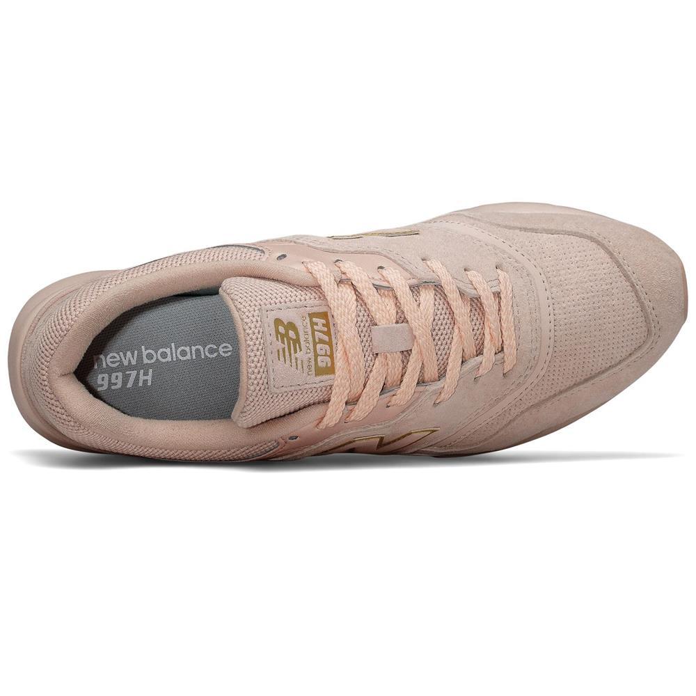 miniatura 8 - New-Balance-CW-997-H-Damen-Sneaker-Leder-Schuhe-Turnschuhe-Sportschuhe