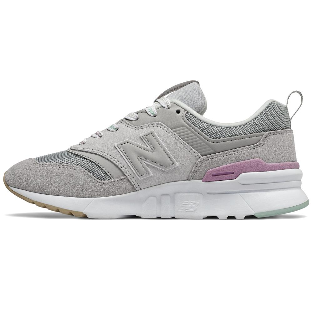 miniatura 11 - New-Balance-CW-997-H-Damen-Sneaker-Leder-Schuhe-Turnschuhe-Sportschuhe
