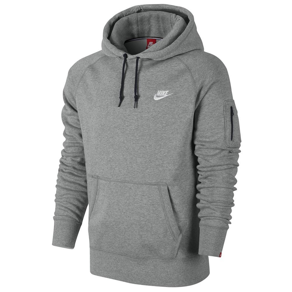 Nike-AW77-Fleece-Herren-Hoodie-Sweatshirt-Hoody-Kapuzenpullover-Pulli