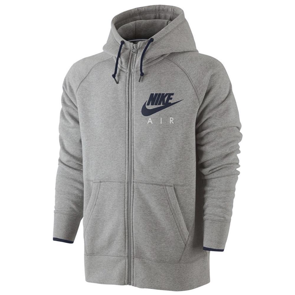 288b11b38845c Nike air Gris Homme Survêtement Fermeture Éclair Pull À capuche et ...