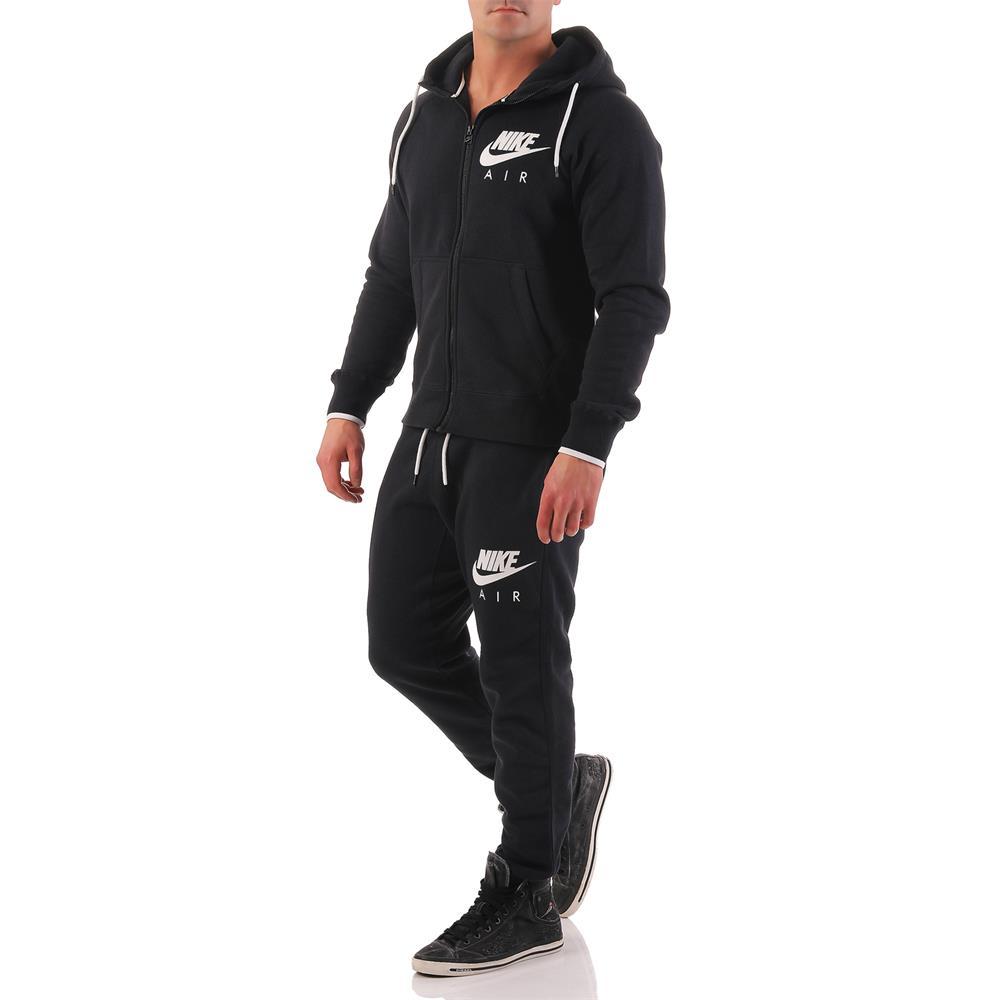nike air aw77 heritage fz fleece herren hoody sweatshirt hoodie kapuzenpullover ebay. Black Bedroom Furniture Sets. Home Design Ideas
