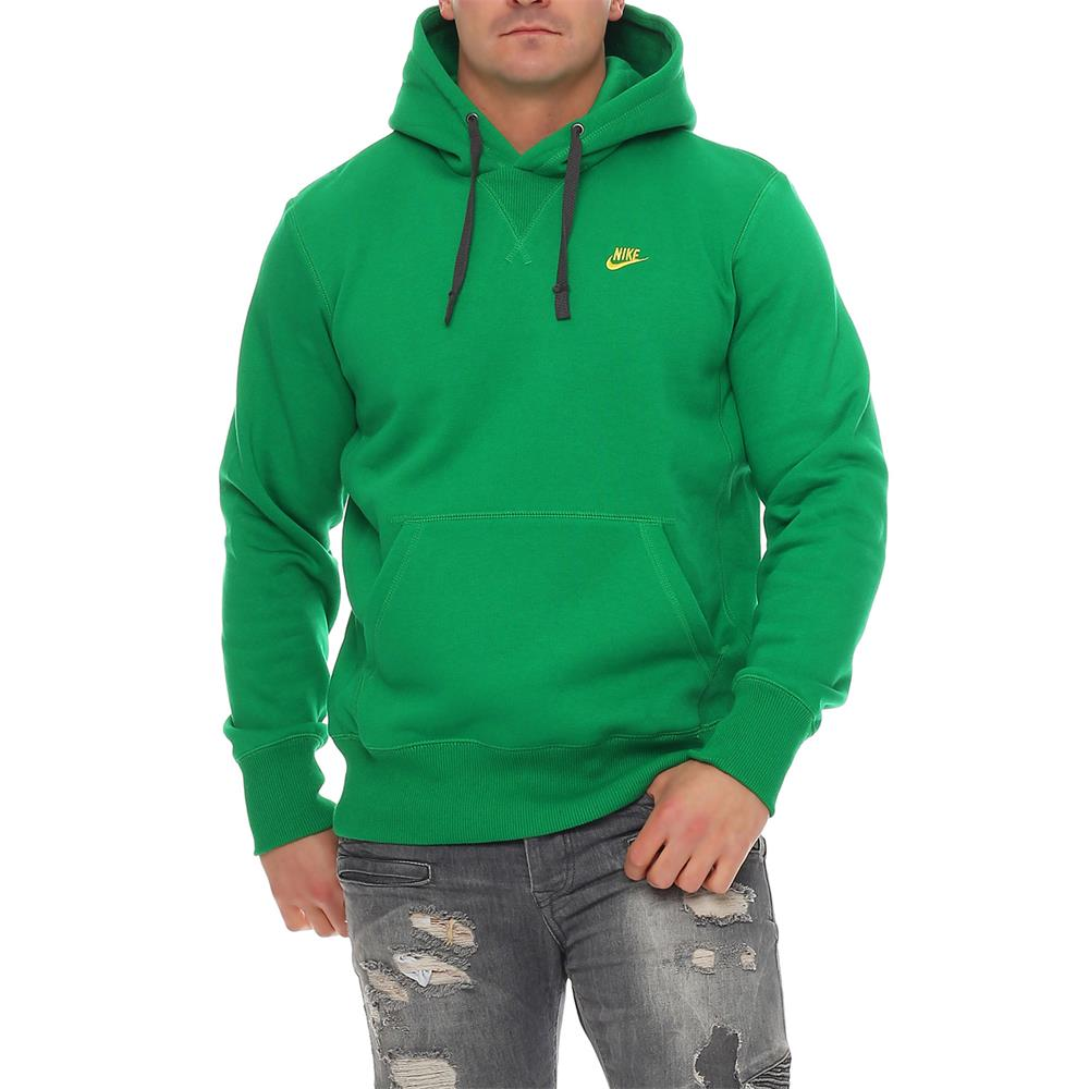 Felpa Cappuccio Con Nike Colorata Maglione Classico Pullover Sdx4qwA