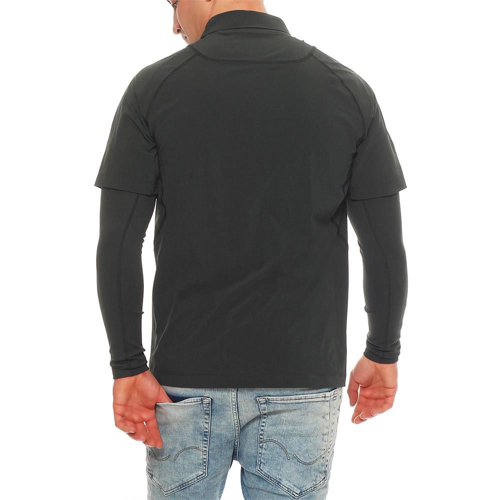 nike golf dri fit warm motion layer herren longsleeve shirt langarm pullover ebay. Black Bedroom Furniture Sets. Home Design Ideas